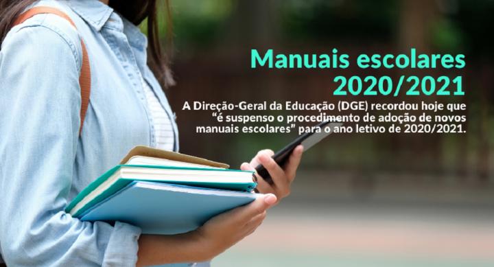 Suspensão da devolução dos manuais escolares